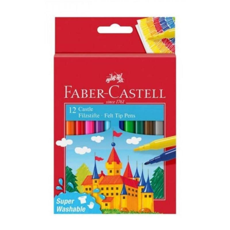 Flomasteri FABER CASTELL 12