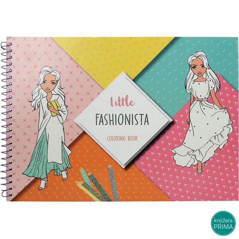 Bojanka CREATIVE Little fashionista