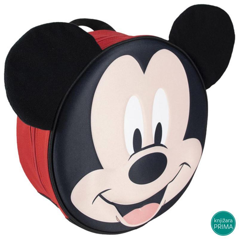 Ranac za vrtić CERDA Mickey 3D okrugli
