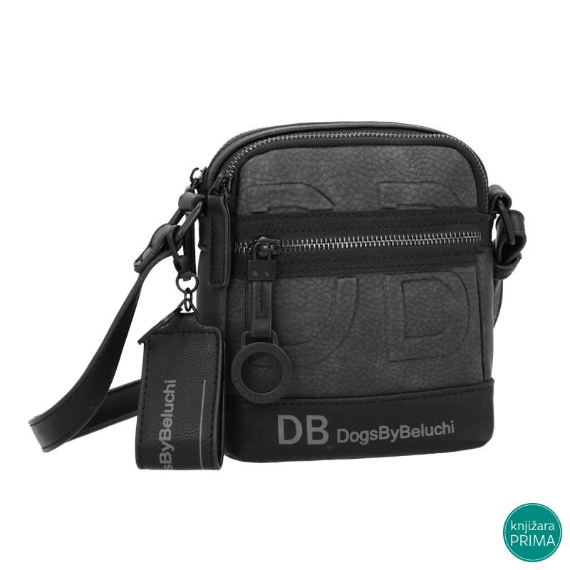 Muška torbica DOGS BY BELUCHI black