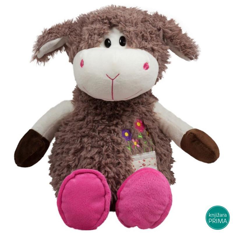 Braon ovčica 33cm