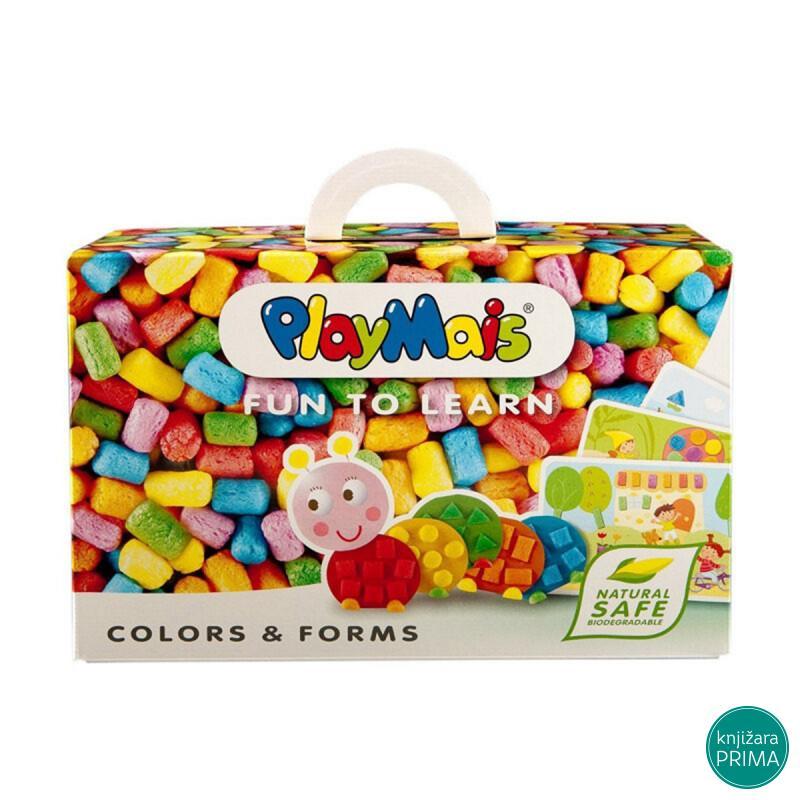 PLAYMAIS zabavi se i nauči - boje i oblici